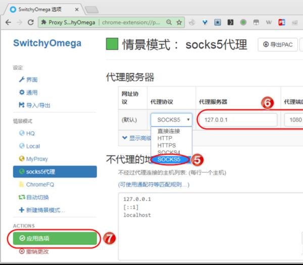 浏览器怎么使用socks5代理IP